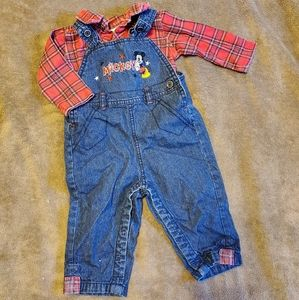 Disney's Mickey Mouse Outfit 3/6M